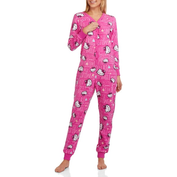 3660ebe79 Hello Kitty Intimates & Sleepwear | Womens Pajama One Piece ...